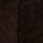 Třísločiněný nubuk 2 - 2,2 mm TMAVĚ HNĚDÝ